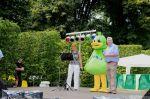 Der Bürgermeister Peter Winzer und die WIS Ente